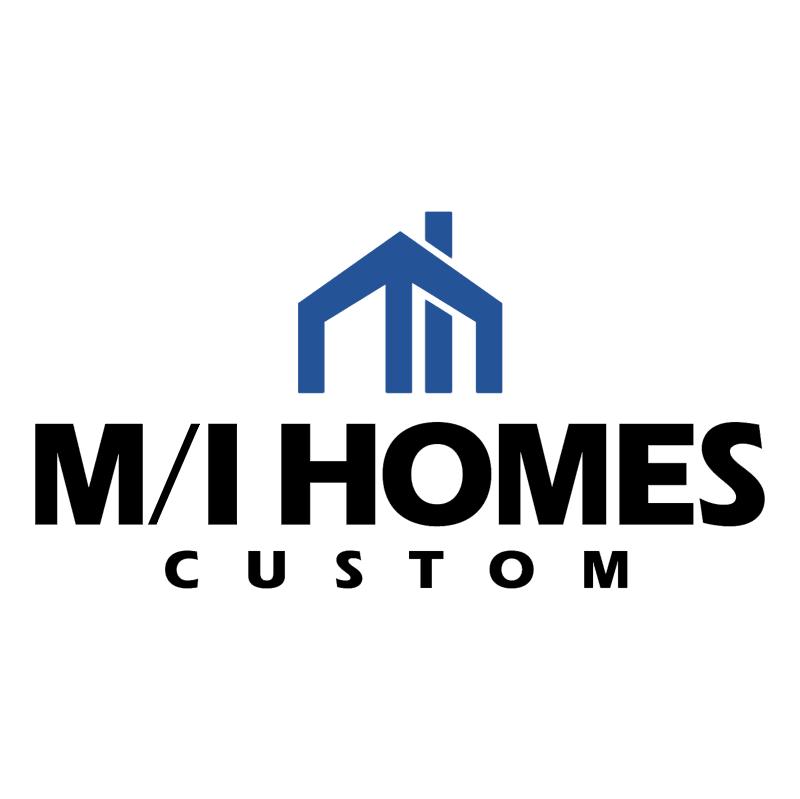 M I Homes Custom vector