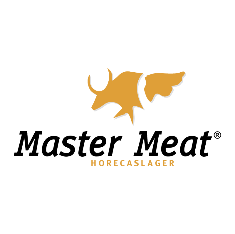 Master Meat vector