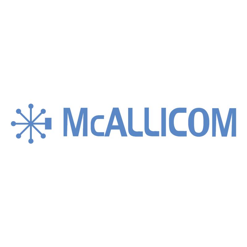 McALLICOM vector logo