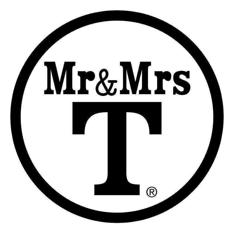 Mr&Mrs vector