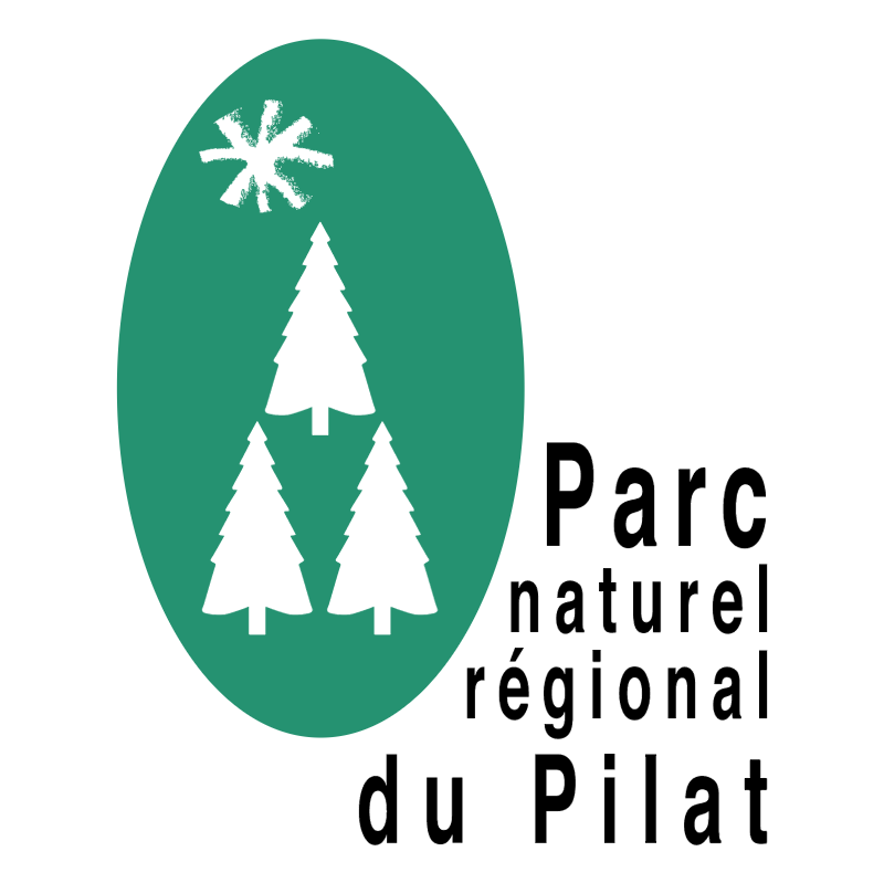 Parc naturel regional du Pilat vector