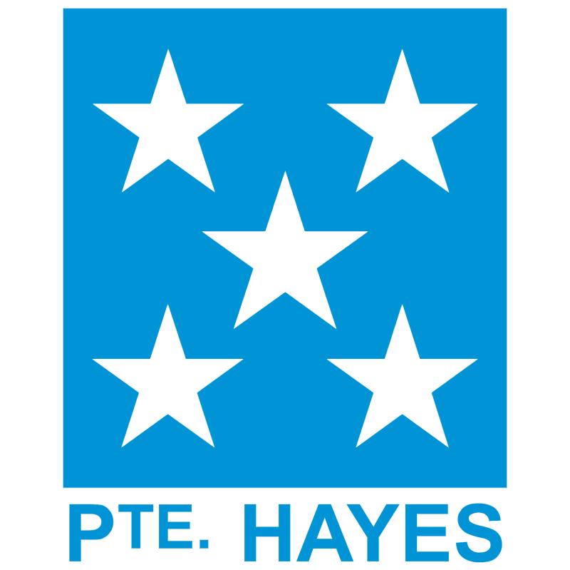 Presidente Hayes vector