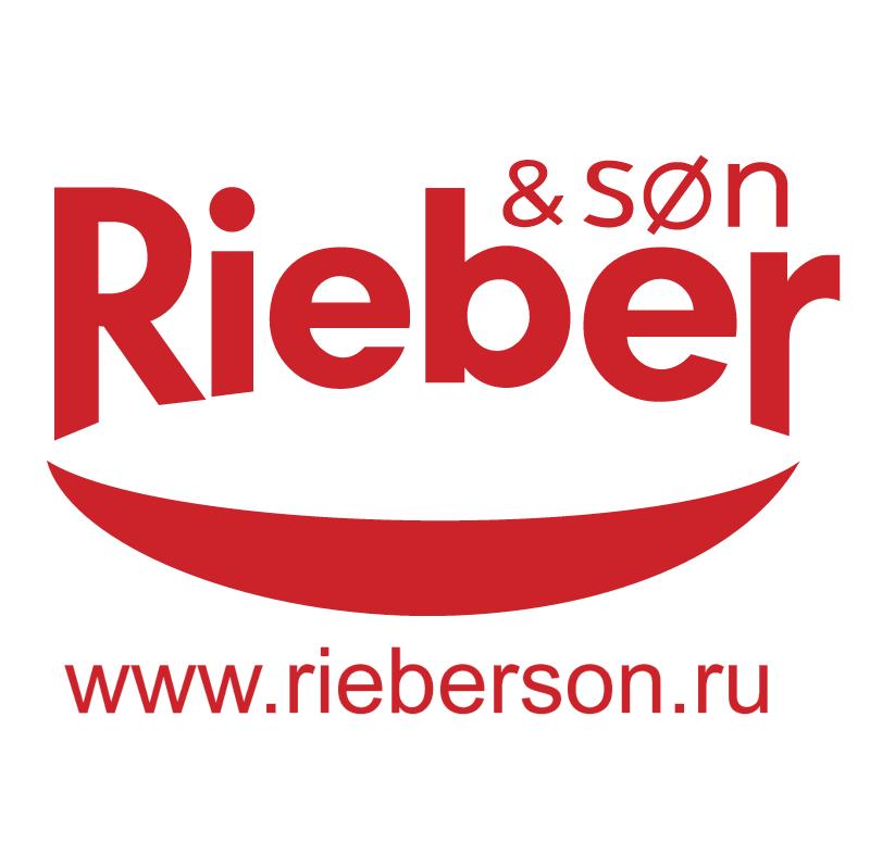Rieber & son vector logo