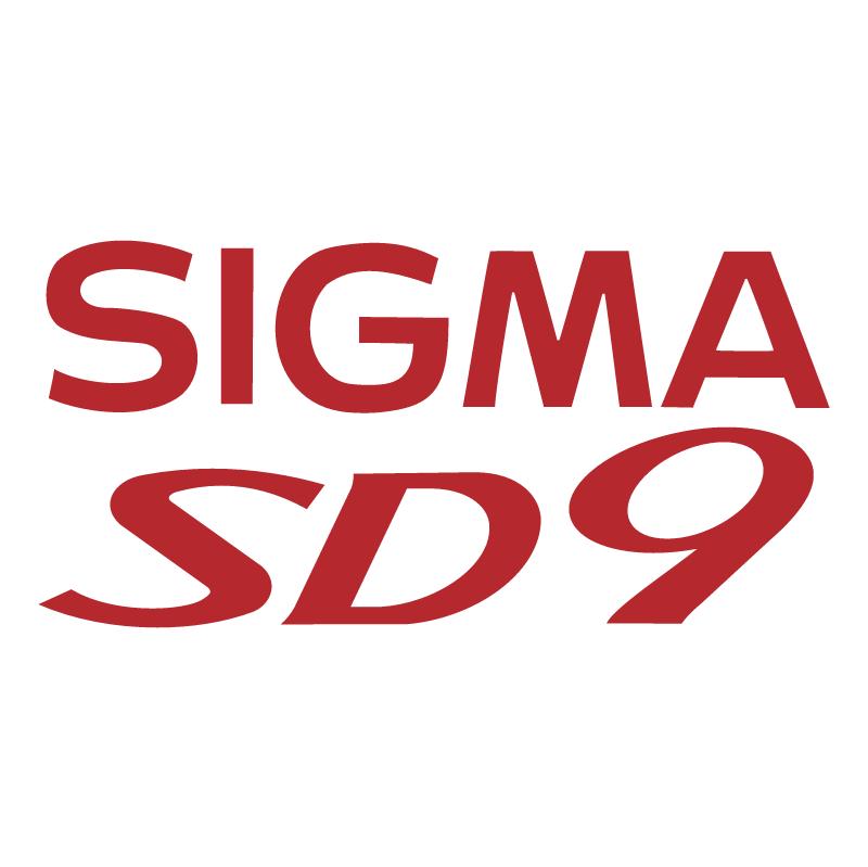 Sigma SD9 vector logo
