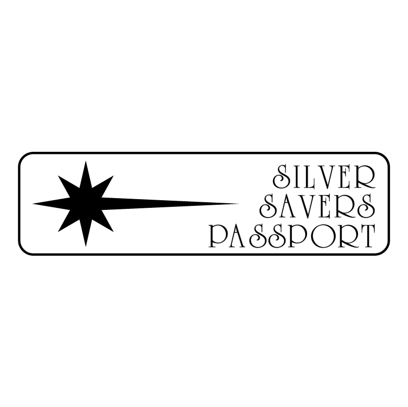 Silver Savers Passport vector