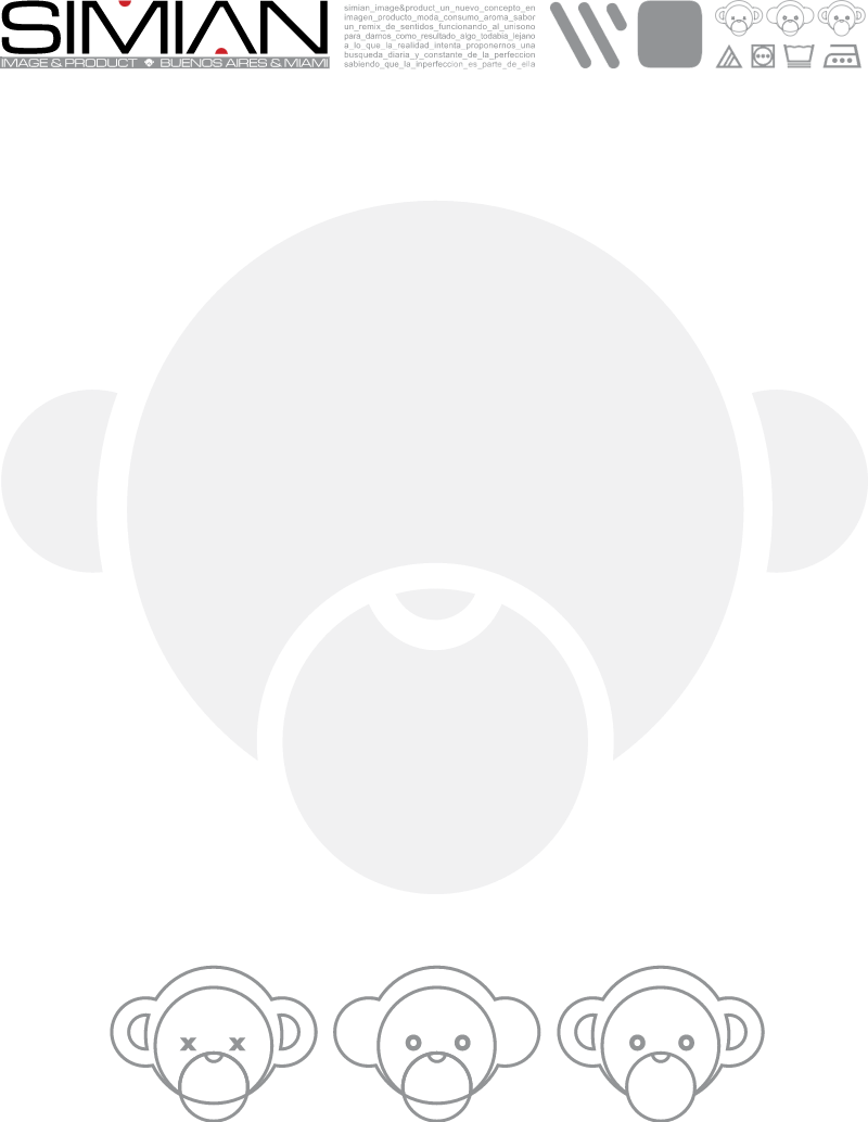 Simian Image & Product vector