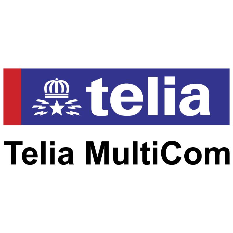 Telia MultiCom vector logo