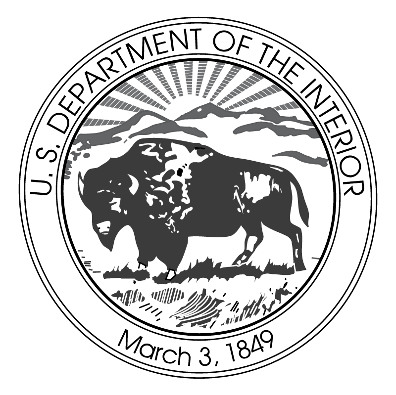 U S Department of the Interior vector logo
