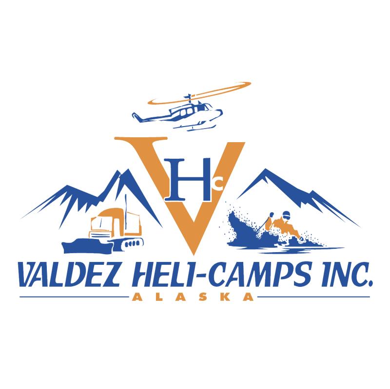 Valdez Heli Camps vector