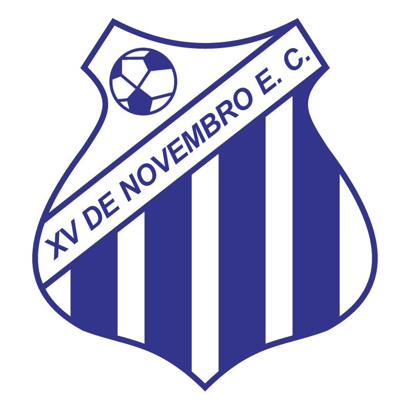 XV de Novembro Esporte Clube de Uberlandia MG vector