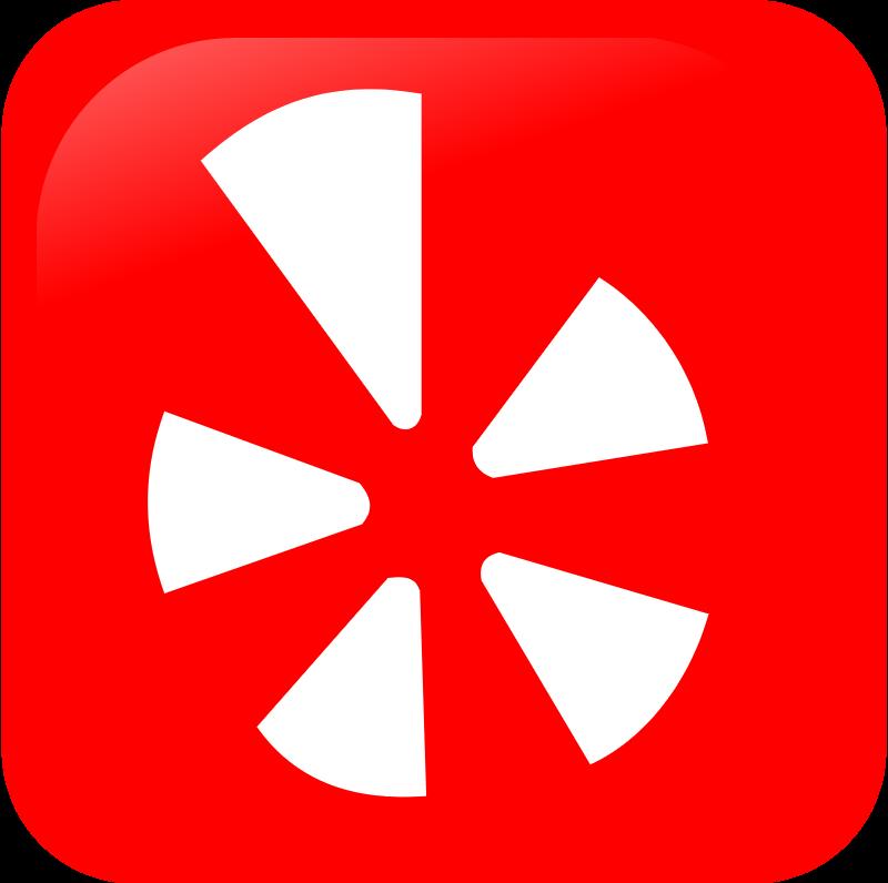 Yelp icon vector