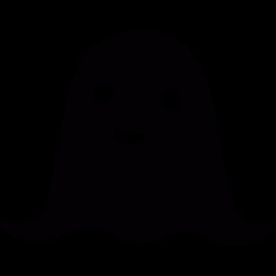 Fancy ghost vector logo