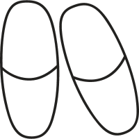 Slipers vector