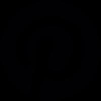 Pinterest logotype vector