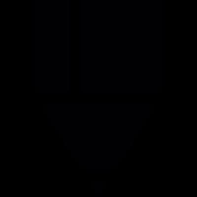 Pencil tip vector logo