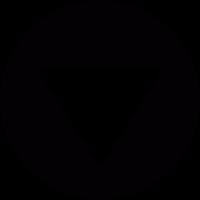 Scroll Down Arrow vector