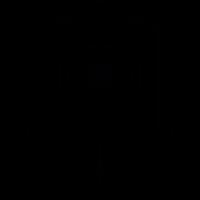 Camera vintage, IOS 7 interface symbol vector