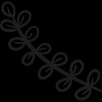 Garden Leaves vector