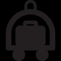 Hotel Cart vector