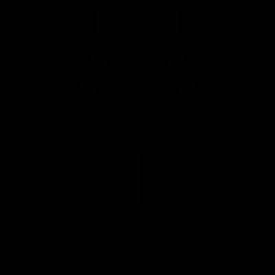 Bottle of Milk vector logo
