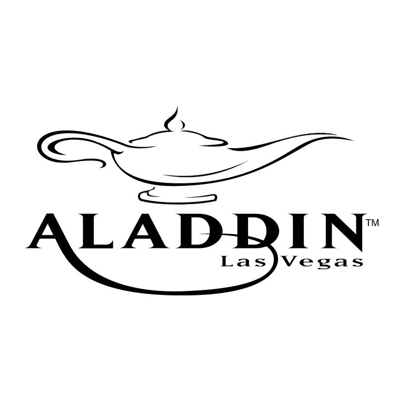 Aladdin Las Vegas vector