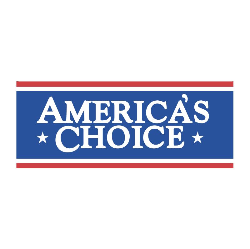 America's Choice vector