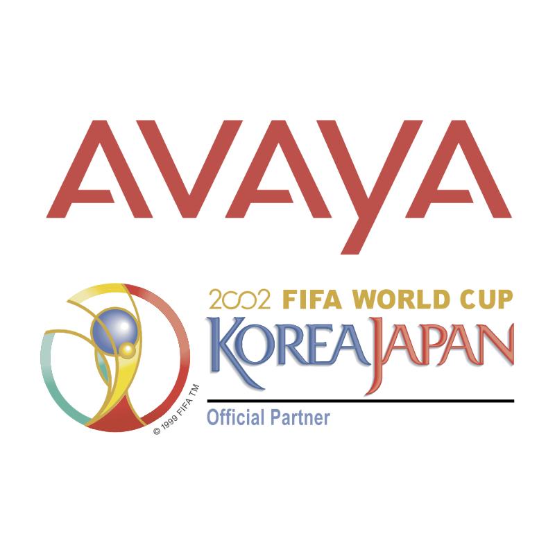 Avaya 2002 World Cup Sponsor 54595 vector