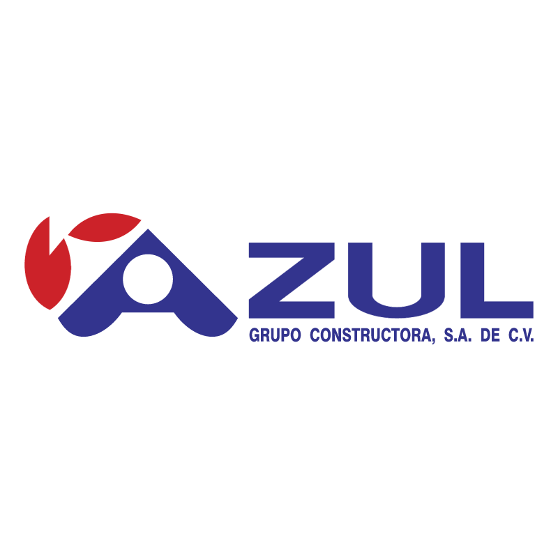 Azul Grupo Constructor 69895 vector