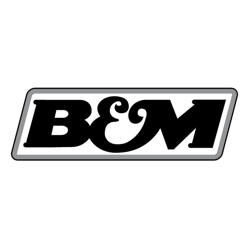 B&M vector logo