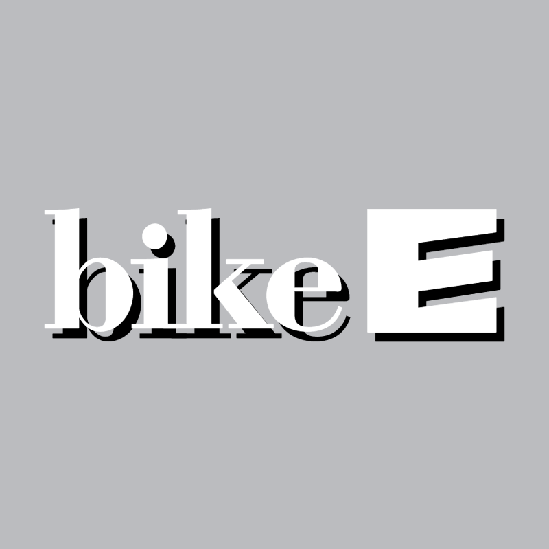Bike E 56833 vector