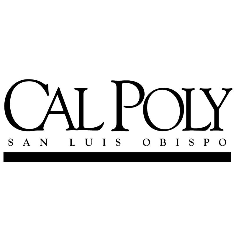 Cal Poly vector
