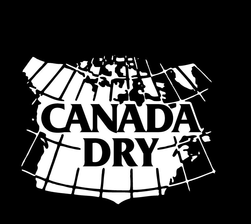 Canada dry logo vector