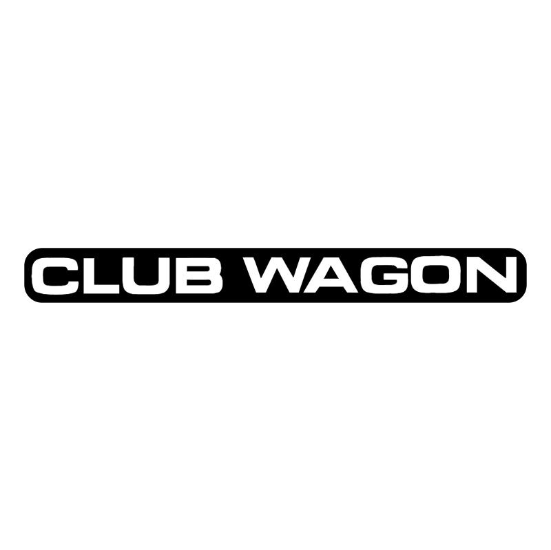 Club Wagon vector