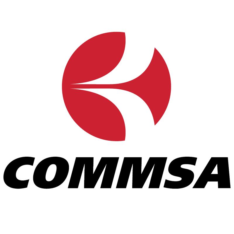 COMMSA vector logo