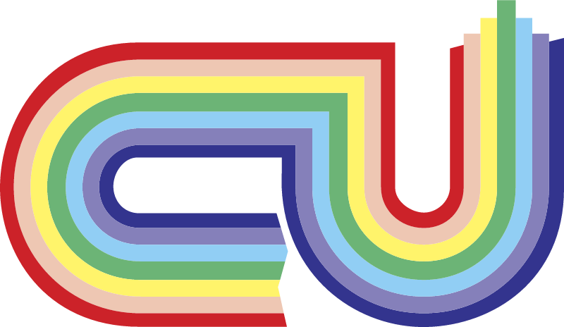 CU Rainbow logo vector