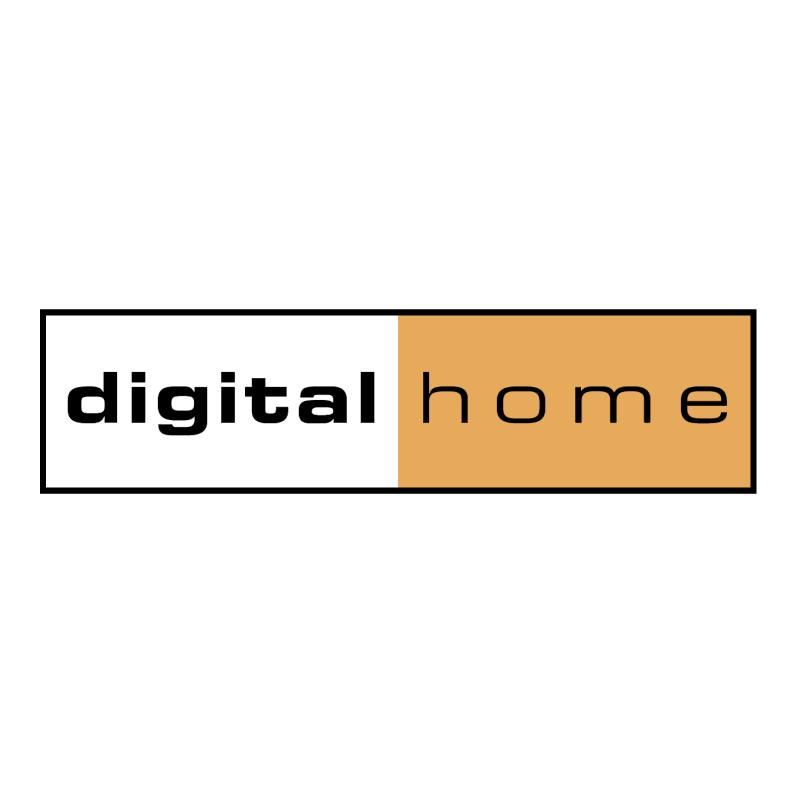 Digital Home vector