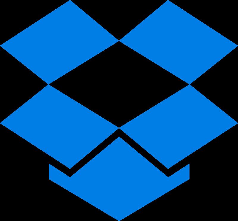 Dropbox vector logo