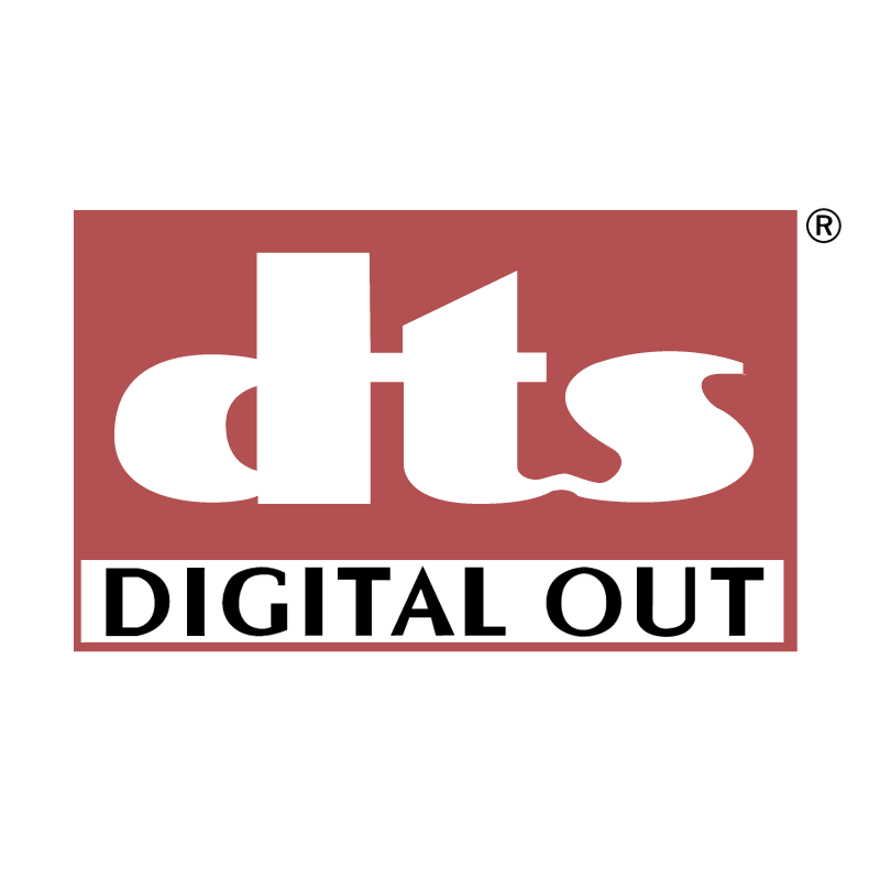 DTS Digital Out vector