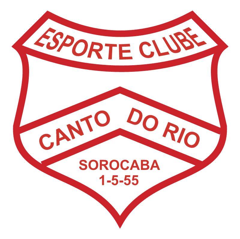 Esporte Clube Canto do Rio de Sorocaba SP vector