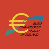 Euro Changeover Board Of Ireland vector