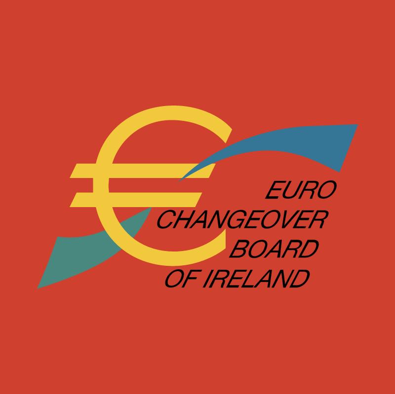 Euro Changeover Board Of Ireland vector logo
