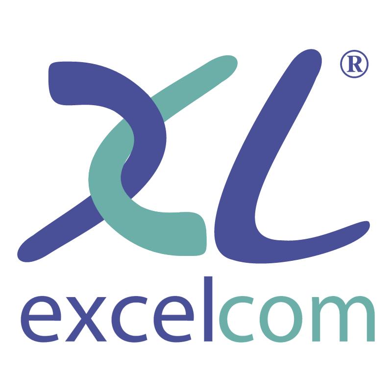 Excelcom vector logo