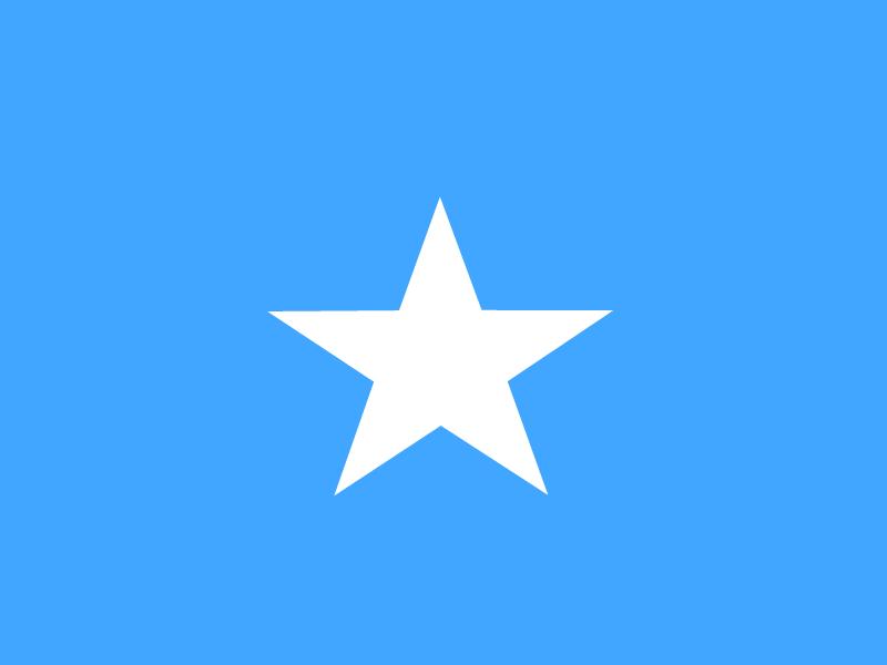 Flag of Somalia vector logo