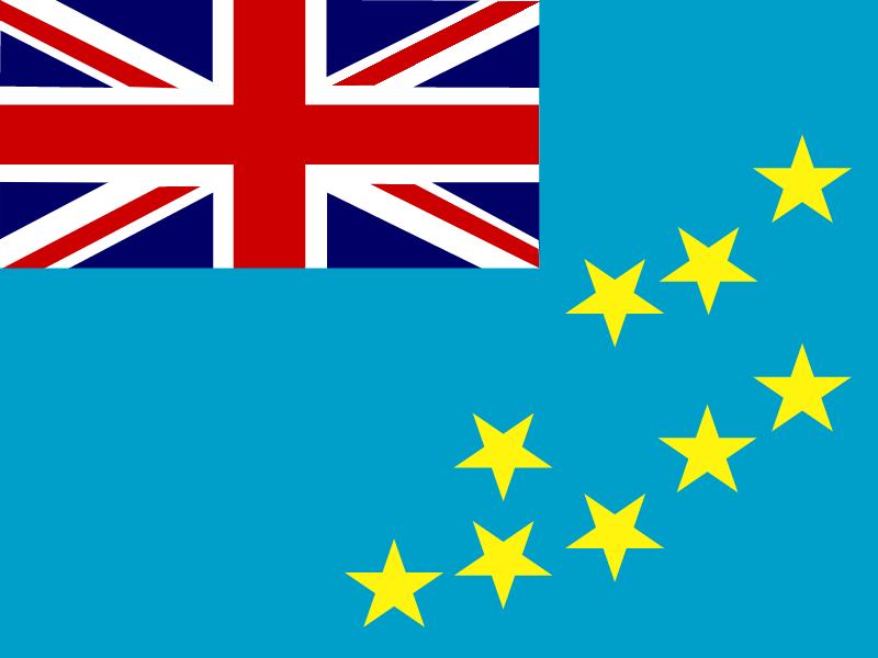 Flag of Tuvalu vector