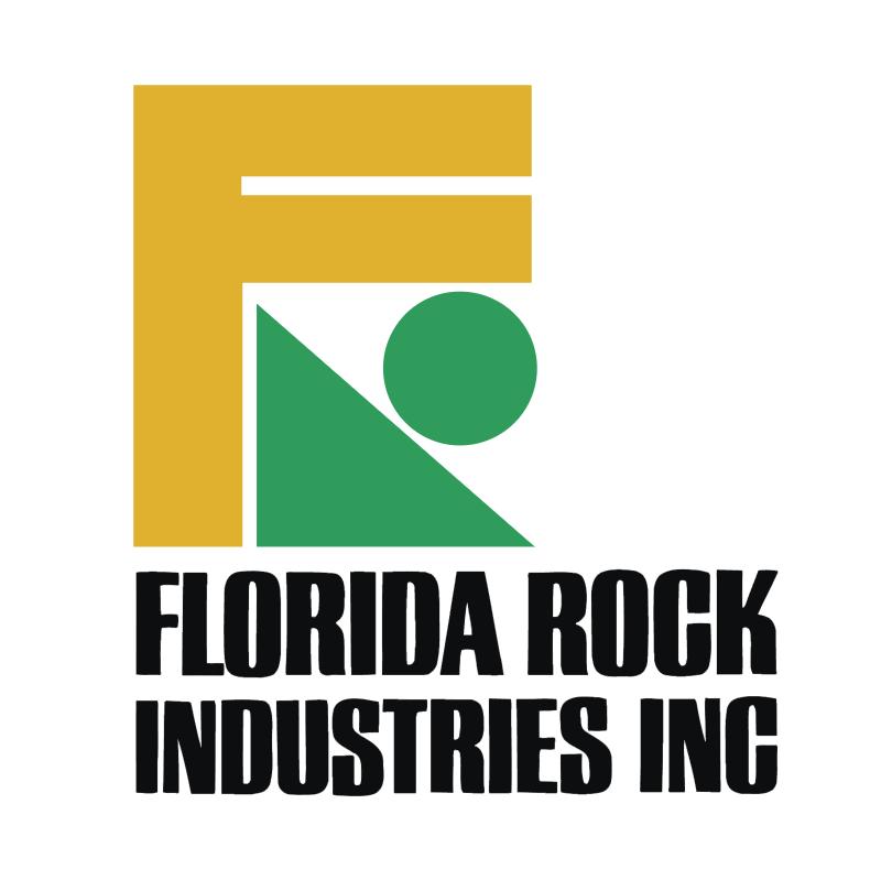 Florida Rock Industries vector logo