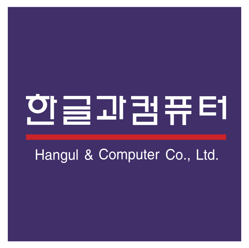 Hangul & Computer vector