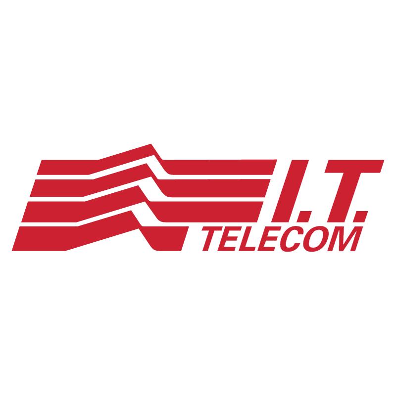 I T Telecom vector