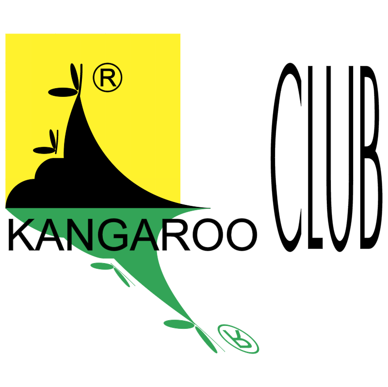 Kangaroo Club vector