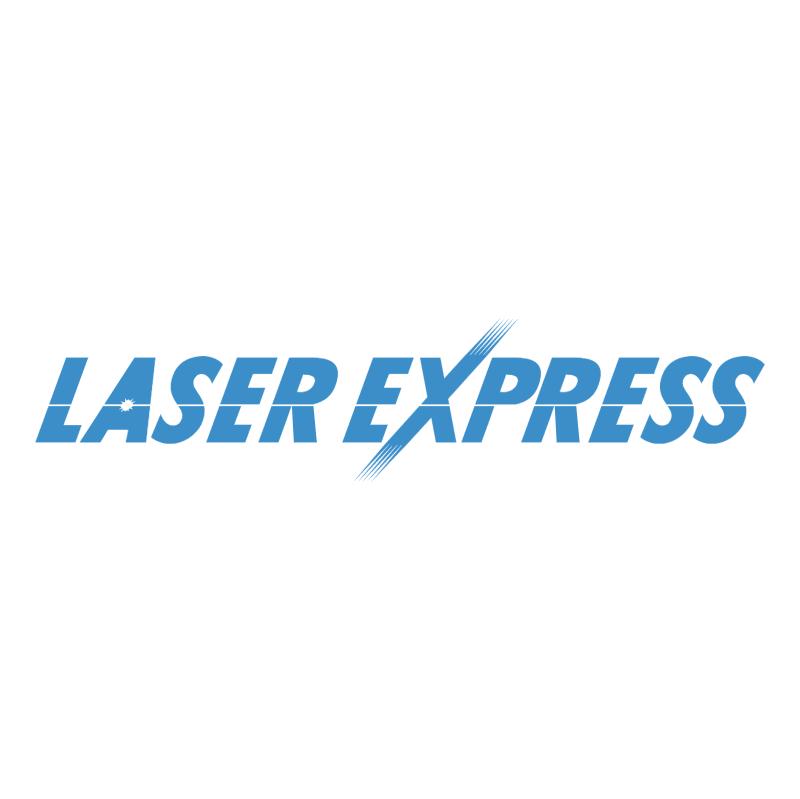 Laser Express vector logo