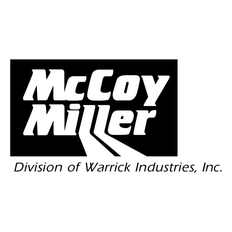 McCoy miller vector logo
